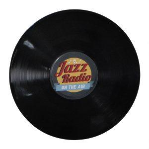 """Disco Adesivado para Decoração - Jazz """"Lp 12"""""""
