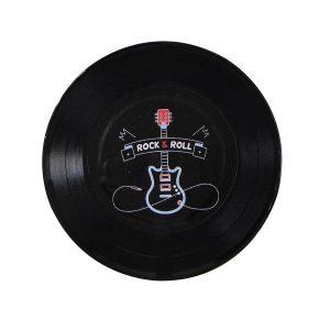 """Disco Adesivado para Decoração - Rock & Roll """"Compacto 7"""""""