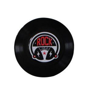 """Disco Adesivado para Decoração - Rock """"Compacto 7"""""""